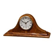 Designs By Marble Crafters Saturn Clock; Saffron Brown Onyx