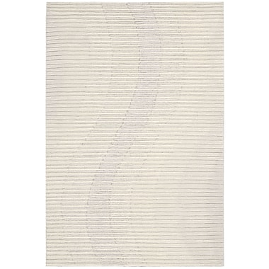 Joseph Abboud Mulholland Hand-Woven Ivory Area Rug; 3'9'' x 5'9''