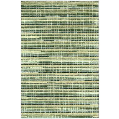 Joseph Abboud Mulholland Hand-Woven Green Area Rug; 5' x 7'6''