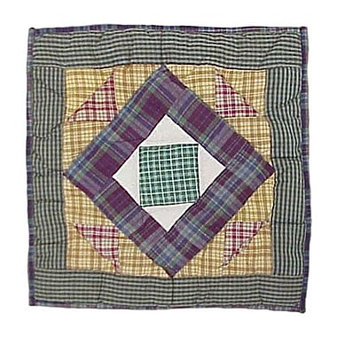 Patch Magic Square Diamond Cotton Throw Pillow