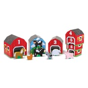 Melissa & Doug® Nesting, Sorting Barns and Animals