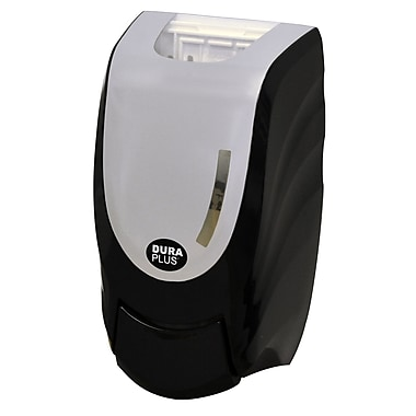 Duraplus Manual Soap Dispenser, 1000 mL, Black