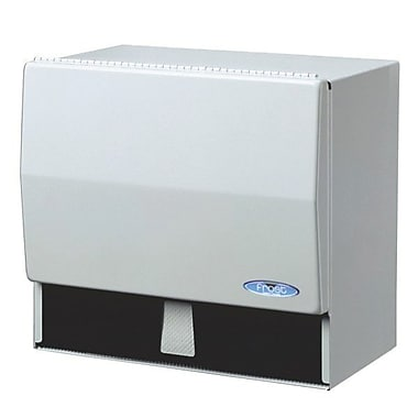 Frost Universal Towel Dispenser, White Epoxy Powder