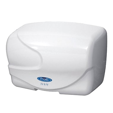 Frost Hands Free Auto Air Hand Dryer, 110 V, White