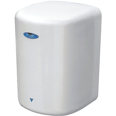 Frost High Speed Hands Free Auto Hand Dryer, 120 V, Porcelain White