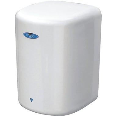 FrostMD – Sèche-mains à haute vitesse, mains libres, 120 V, blanc porcelaine