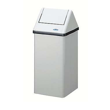 Frost Free Standing Waste Receptacle, 105-Litre, White
