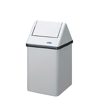 Frost Free Standing Waste Receptacle, 41-Litre, White