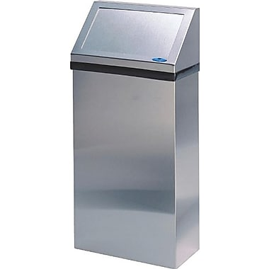 Frost Wall Mounted Waste Receptacle, 50-Litre, Stainless Steel