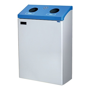 Frost Wall Mount Recycling Station, Blue