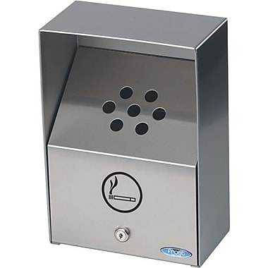 Frost Heavy Duty Wall Mount Ashtray, Stainless Steel