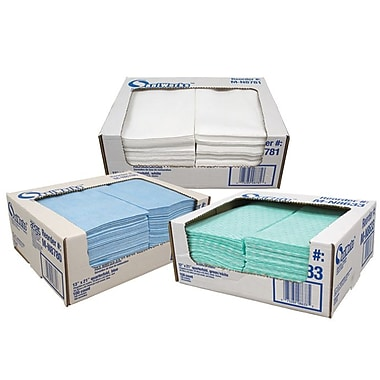 Hospeco Saniworks Deluxe Disposible Cloths, Blue