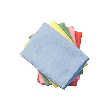 Continental Supremo Multipurpose Microfibre Cloth, Green, 12/Pack