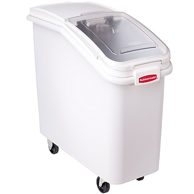 Rubbermaid ProSave 2.75 Sq Ft Ingredient Bin, White