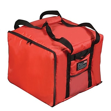 Rubbermaid Proserve 9F38 Pizza Delivery Bag, Red, 13