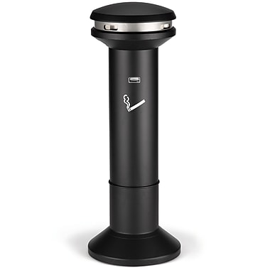Rubbermaid Infinity™ Ultra-High Capacity Smoking Receptacle, Black