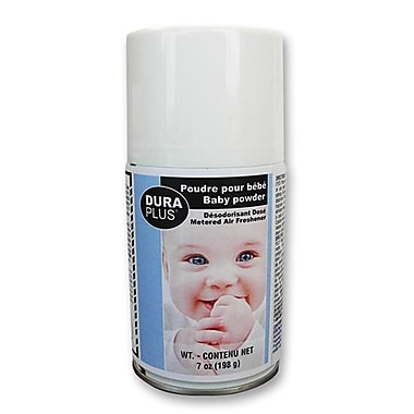 Sprayway Metered Air Freshener Spray, 7 oz, Baby Powder