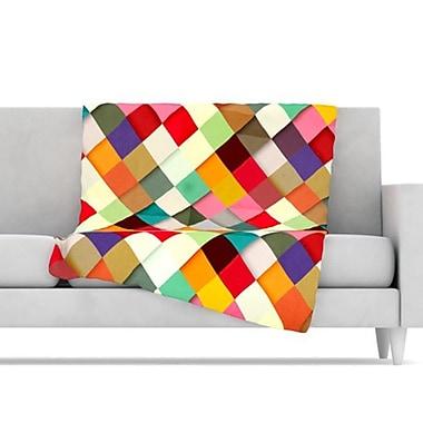 KESS InHouse Pass This On Throw Blanket; 80'' L x 60'' W