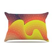 KESS InHouse Waves, Waves Pillowcase; King