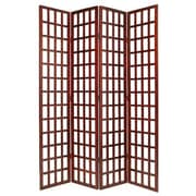 Screen Gems 97'' x 80'' Dakota Screen 4 Panel Room Divider