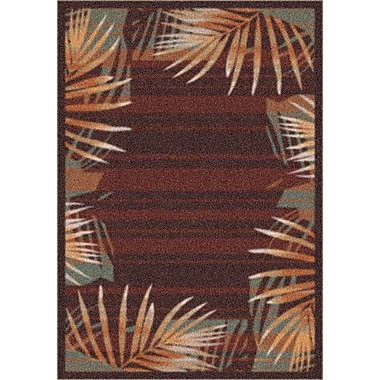 Milliken Modern Times Palm Dark Chocolate Area Rug; Rectangle 2'8'' x 3'10''