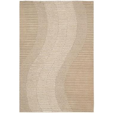 Joseph Abboud Mulholland Hand-Woven Sand Area Rug; Runner 2'3'' x 8'