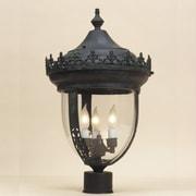 JVI Designs Outdoor 2-Light Lantern Head; Verde