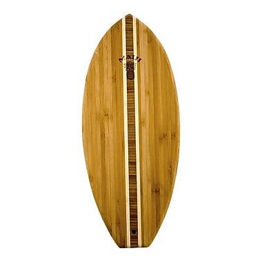 Totally Bamboo Tropical Lil' Surfer Board w/ Maui Logo Cutting Board
