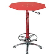 Pit Stop Furniture Racing Style Pub Table; Red
