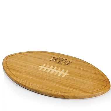 Picnic Time NCAA Kickoff Wood Cutting Board; Brigham Young University Cougars