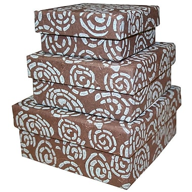 Sustainable Threads Spiral Nesting Boxes (Set of 3)
