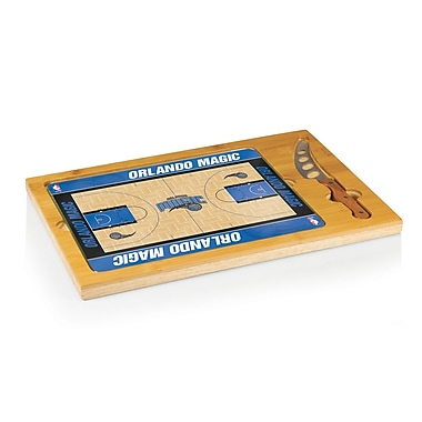 Picnic Time NBA Icon Cutting Cheese Board; Orlando Magic