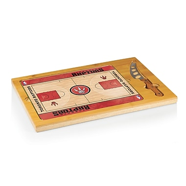 Picnic Time NBA Icon Cutting Cheese Board; Toronto Raptors