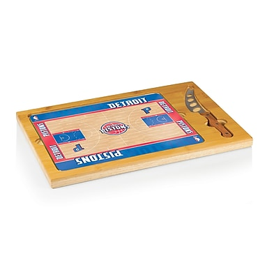 Picnic Time NBA Icon Cutting Cheese Board; Detroit Pistons