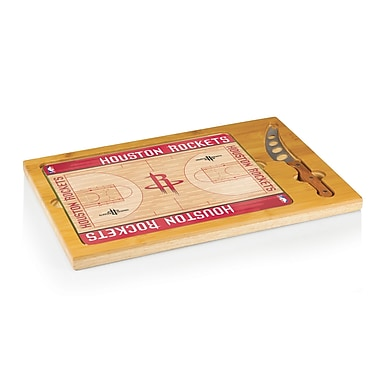 Picnic Time NBA Icon Cutting Cheese Board; Houston Rockets