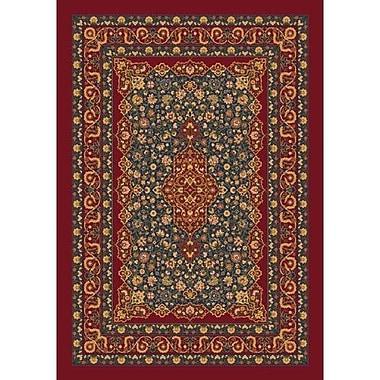 Milliken Pastiche Kashmiran Tiraz Tapestry Red Area Rug; Rectangle 3'10'' x 5'4''