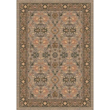 Milliken Pastiche Kamil Hillcrest Sage Folk/Tribal Rug; Rectangle 5'4'' x 7'8''