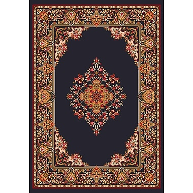 Milliken Pastiche Merkez Ebony Area Rug; Rectangle 7'8'' x 10'9''