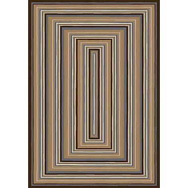 Milliken Innovation Rylie Dark Amber Aera Rug; Rectangle 2'8'' x 3'10''