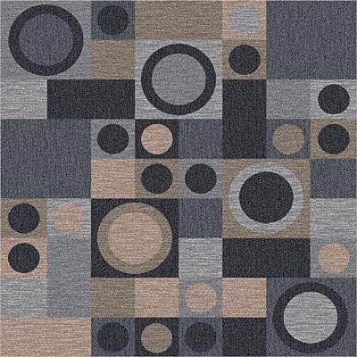 Milliken Pastiche Rialto Grey Area Rug; Rectangle 3'10'' x 5'4''