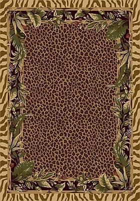 Milliken Signature Jungle Safari Pale Topaz Area Rug; Rectangle 2'8'' x 3'10''