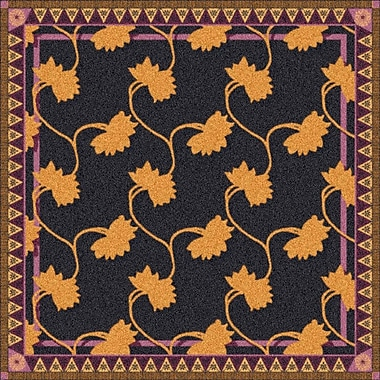 Milliken Pastiche Bantam Ebony Rug; Rectangle 3'10'' x 5'4''