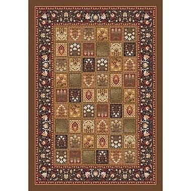 Milliken Pastiche Kashmiran Pristina Nutshell Brown Area Rug; Rectangle 7'8'' x 10'9''