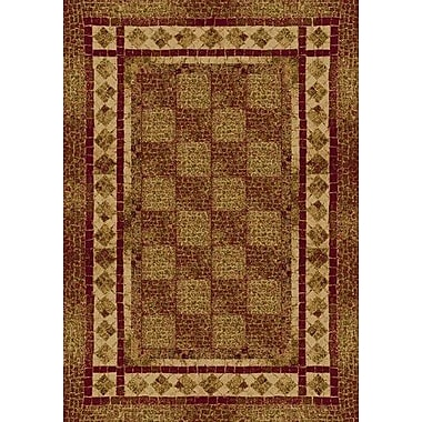 Milliken Innovation Brick Flagler Area Rug; Rectangle 2'1'' x 7'8''