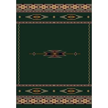 Milliken Signature Eagle Canyon Emerald Area Rug; Rectangle 7'8'' x 10'9''