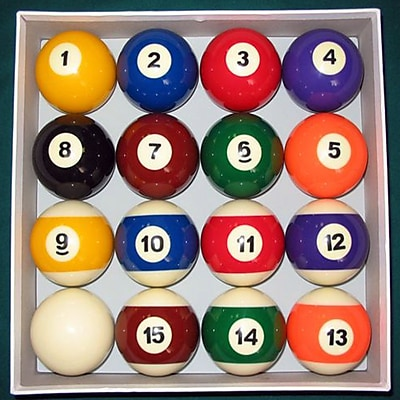 Imperial Billiard Ball Set WYF078276014611