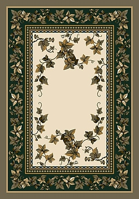 Milliken Signature Ivy Valley Opal Area Rug; Oval 3'10'' x 5'4''