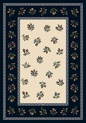 Milliken Signature Francesca Sapphire Area Rug; Rectangle 3'10'' x 5'4''