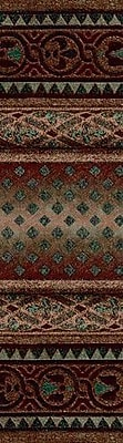 Milliken Signature Mohavi Dark Amber Area Rug; Rectangle 2'1'' x 7'8''