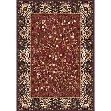 Milliken Pastiche Kashmiran Balsa Cordovan Area Rug; Rectangle 7'8'' x 10'9''